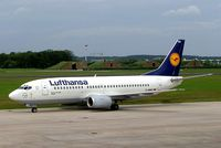 D-ABEO @ ETNL - Boeing 737-330 [26429] (Lufthansa) Rostock-Laage~D 20/05/2006 - by Ray Barber