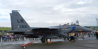 98-0131 @ EGQL - 492FS Strike eagle carrying 3x MXU-648 Baggage pods - by Mike stanners