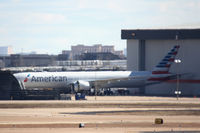 N717AN @ DFW - American Airlines first 777-300ER at DFW Airport - by Zane Adams