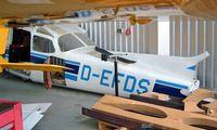 D-EFDS @ EDXN - R/Cessna F.172M Skyhawk [1312] Bremerhaven~D 21/05/2006. Not certain if this has been rebuilt as is still current as of 31/01/2013. - by Ray Barber