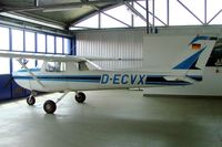 D-ECVX @ EDWB - R/Cessna F.150L [0910] Bremerhaven~D 22/05/2006 - by Ray Barber
