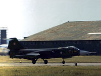 104842 - CF-104 Starfighter of 421 Squadron Canadian Armed Forces taxying at the 1973 Intnl Air Tattoo at RAF Greenham Common. - by Peter Nicholson