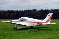 D-EMWQ @ EDAN - Piper PA-28-140 Cherokee C [28-26819] Neustadt-Glewe~D 20/05/2006 - by Ray Barber