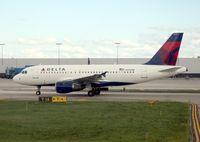 N340NB @ DTW - Delta A319