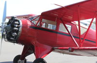 N13562 @ KSPG - 1933 Waco UIC at Albert Whitted Airport, St.Petersburg, FL - by irabourstein321