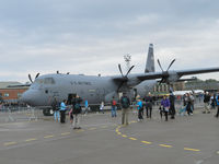 08-8605 @ EGQL - Ramstein based Hercules from 37AS  in the static display at Leuchars airshow 2011 - by Mike stanners