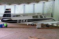 D-EIKA @ EDHL - Mooney M.20J Model 201 [24-1645] Lubeck~D 21/05/2006 - by Ray Barber