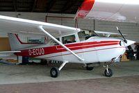 D-ECUO @ EDVH - R/Cessna F.172M Skyhawk [0921] Hodenhagen~D 23/05/2006 - by Ray Barber