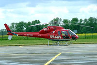 OE-XAG @ EDDB - Eurocopter AS.355F2 Ecureuil II [5478] ( Knaus Helicopter) Berlin-Schonefeld~D 19/05/2006