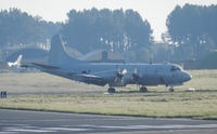 158573 @ EGQL - VP-10 P-3C Orion taxiing to its dispersal area after completing a joint warrior mission,first pic in the database - by Mike stanners