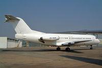 ZS-XGW @ FALA - Fokker F-28-4000 Fellowship [11130] (Trans Air Congo) Lanseria~ZS 05/10/2003