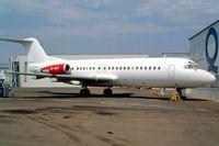 ZS-XGX @ FALA - Fokker F-28-4000 Fellowship [11115] (Airquarius Aviation) Laseria~ZS 05/10/2003