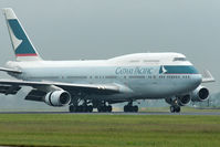 B-HUD @ EHAM - Cathay Paciffic Airways Boeing B747-467 landing in EHAM/AMS - by Janos Palvoelgyi