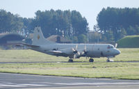 163293 @ EGQL - VP-26 P-3C Orion taxiing to its dispersal after a joint warrior mission - by Mike stanners
