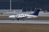 D-IOSB @ LOWW - Heliflight Piper PA-42 - by Thomas Ranner