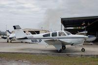 N181JP @ BOW - 1981 Beech F33A, N181JP, at Bartow Municipal Airport, Bartow, FL - by scotch-canadian