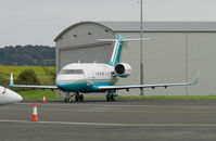 C-GGBL @ EGPH - London Air Services CL.600-2B16 Challenger 605 - by Mike stanners