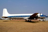 EL-WNH @ FALA - Douglas DC-6B [43127] (Fire Service) Lanseria~ZS 05/10/2003. This was moved to the fire training area repainted and minus undercarriage.