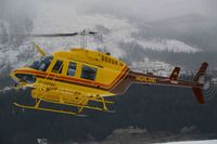 C-GFHH - Backcountry ski hut staging landing area south of Burton BC - by J Seibert