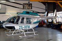 ZS-RFM @ FAGM - Bell 206B-3 Jet Ranger III [2890] Rand~ZS 07/10/2003