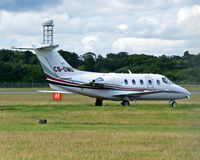 CS-DMU @ EGPH - Netjets Hawker 400XP arrives at EDI - by Mike stanners
