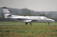 CS-DHH @ EGHH - Departing in heavy drizzle - by John Coates