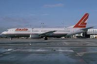 OE-LNH @ LOWW - Lauda Air Boeing 737-400