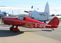 G-APIE @ EGDY - Privately owned - by Howard J Curtis