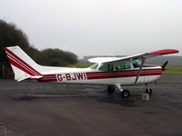 G-BJWI @ EGHH - Privately owned - by Howard J Curtis