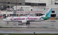 9Y-KIN @ MIA - Caribbean 737-800