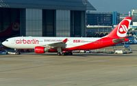 D-ALPI @ EDDL - Air Berlin maintenance facility at Düsseldorf. If this ever happens? BER is more a big mess, than a modern airport!