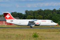 HB-IXP @ EDDF - Swis BAe146 taking off - by FerryPNL