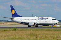 D-ABXS @ EDDF - Lufthansa B733 lining up - by FerryPNL