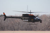 N158AB @ GKY - Bell Helicopter flight test at Arlington Municipal Airport