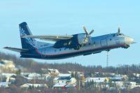 RA-46667 @ ENTC - Antonov An-24RV, c/n: 47309508 departing Tromso for Murmansk