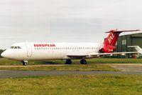 G-AVMP @ EGHH - European Aviation, in store. - by Howard J Curtis