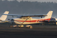 G-ATKT @ EGHH - Privately owned. - by Howard J Curtis