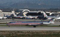 N9406W @ KLAX - MD-83 - by Mark Pasqualino