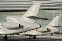 M-ODKZ @ LOWW - Falcon 900 - by Dietmar Schreiber - VAP