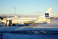 LN-BUD @ ENTC - SAS Boeing 737-505, c/n: 2579