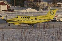 LN-LTL @ ENTC - Beechcraft B-200 c/n BB-2005 at Tromso