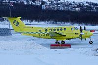 LN-LTB @ ENTC - Beech B200 King Air, c/n: BB-2001 at Tromso - by Terry Fletcher