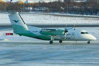 LN-WIL @ ENTC - Wideroe De Havilland Canada DHC-8-103B, c/n: 398 at Tromso - by Terry Fletcher