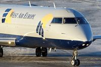 SE-DUY @ ENTC - West Air Europe CRJ 200 arriving at the hold at Tromso
