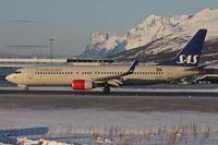 LN-RRG @ ENTC - LN-RRG (Einar Viking), 2008 Boeing 737-85P, c/n: 35708 - just landed at Tromso