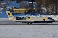 SE-DUY @ ENTC - West Air Europe Canadair CL-600-2B19 Regional Jet CRJ-200LR, c/n: 7023 at Tromso