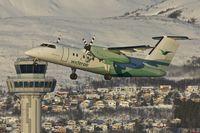 LN-WSB @ ENTC - Wideroe 1996 De Havilland Canada DHC-8-202, c/n: 440 at Tromso
