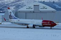 LN-NGG @ ENTC - 2012 Boeing 737-8JP(WL), c/n: 39018 at Tromso