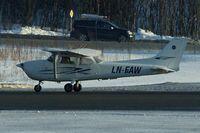 LN-FAW @ ENTC - Cessna F172N, c/n: 1703 at Tromso