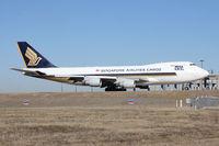 9V-SFQ @ DFW - Singapore Air Cargo at DFW Airport